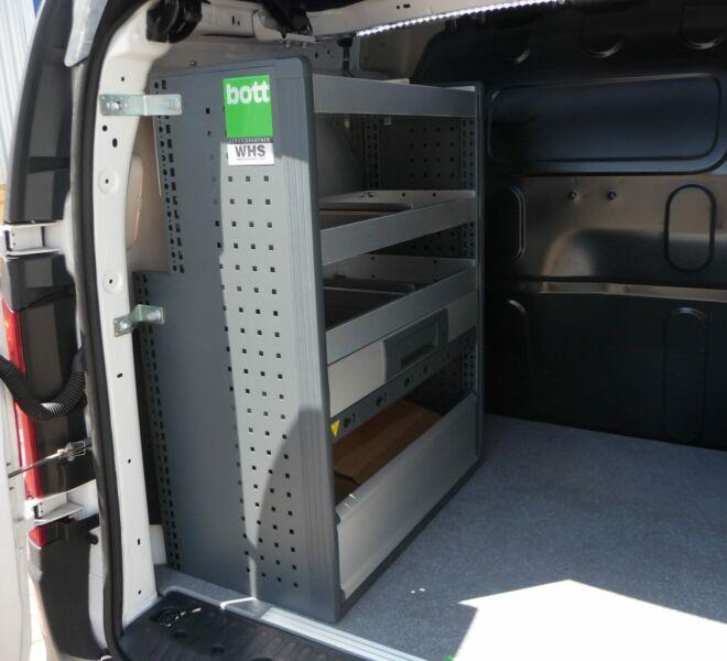 Elektriker-Kastenwagen