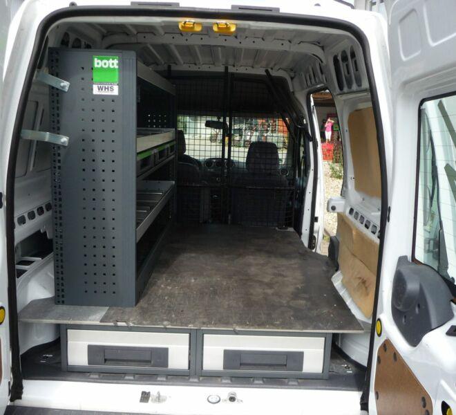 Elektriker-Unterflur-Kastenwagen