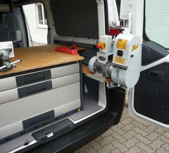 Sonderausbau-Kastenwagen