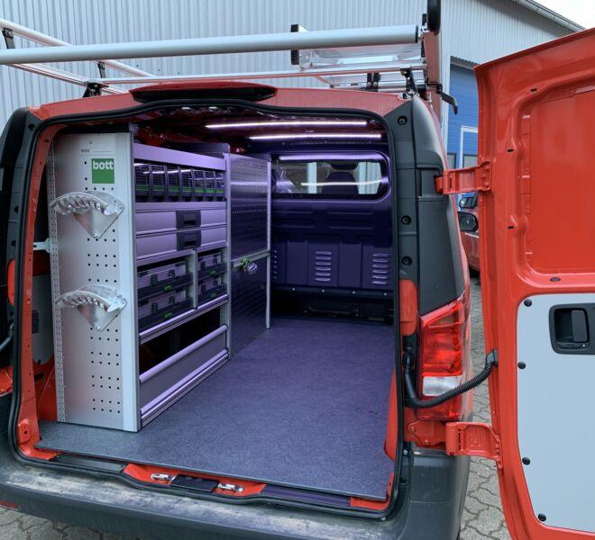 MB Vito Elektroniker Fahrzeug